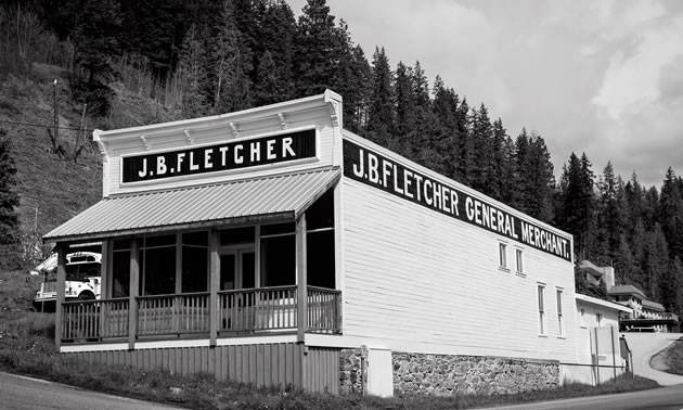 The JB Fletcher Store in Ainsworth will see repairs and improvements thanks to a Columbia Basin Trust grant.