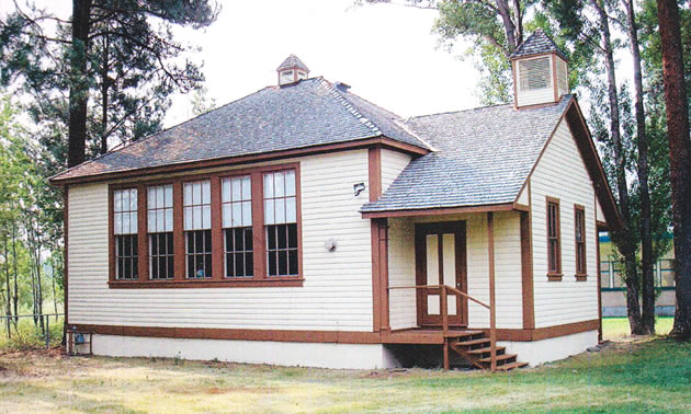 The Old Marysville Schoolhouse near Kimberley will get a new coat of paint thanks to a Columbia Basin Trust grant.