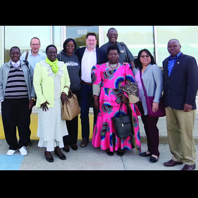 College of the Rockies' educational partners from Tanzania visited the city recently.