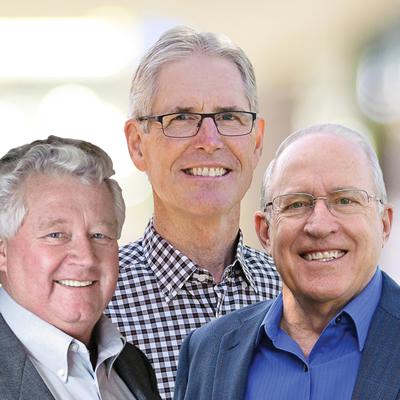 Lee Pratt, mayor of Cranbrook; Don McCormick, mayor of Kimberley and Rick Jensen, owner, New Dawn Group, founded the Cranbrook-Kimberley Development Initiative in November 2015.