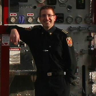 Corey Kortmeyer is the acting chief of the fire department in Elkford, B.C.