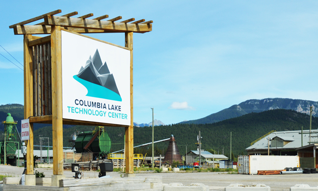 Construction is underway for the new Columbia Lake Technology Center in Canal Flats, B.C.