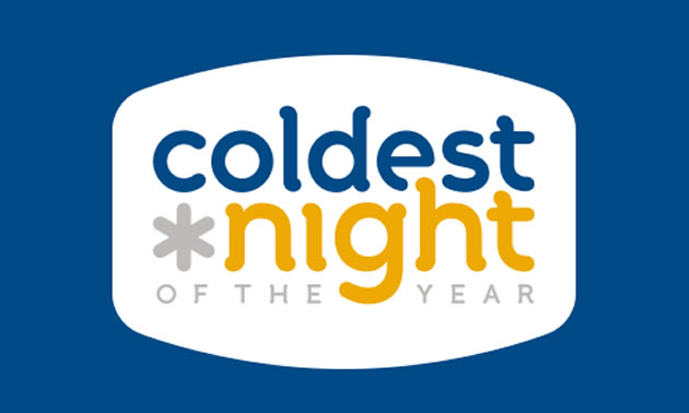 Coldest Night of the Year graphic.
