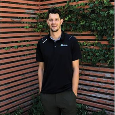 Bryan Fraser, new head coach of the Avalanche volleyball team.