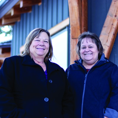 New members of College of the Rockies' Indigenous team (l-r) Jo Ann Smith and Karen Smith, look forward to working with the Ktunaxa Nation to continue to improve the education experience for Indigenous learners in our region.