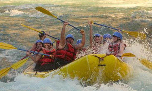 A white water rafting trip down the Elk River is the culminating event organized for College of the Rockies' Orientation Week.
