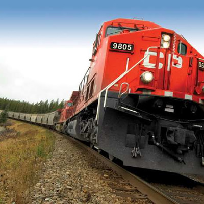 Picture of CP Rail train.