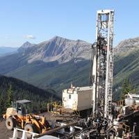 Jameson Resources Crown Mountain site.