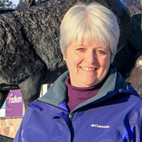 Clara Reinhardt is mayor of Radium Hot Springs, B.C.