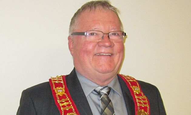Cal McDougall has been Sparwood's mayor for about 12 years—from 1996 to 2005 and from 2014 to the present.
