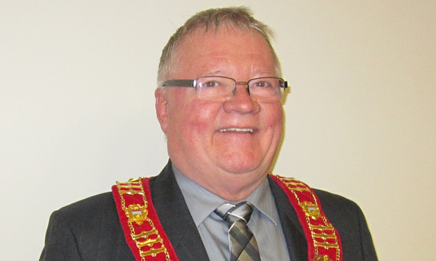 Cal McDougall, mayor of Sparwood, B.C.