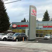 Photo new Kia dealership in Castlegar
