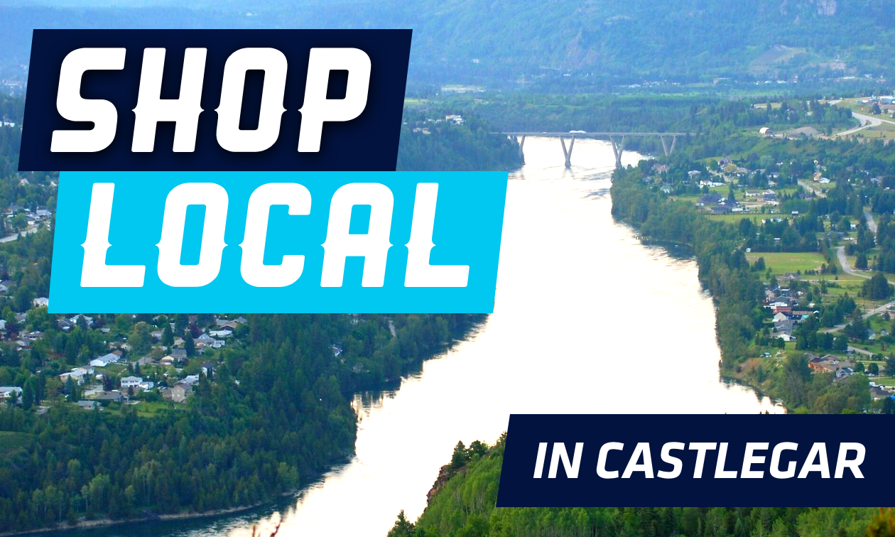 The Columbia River runs through Castlegar.