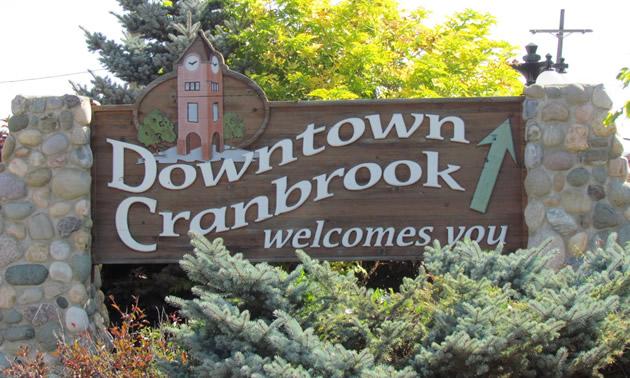 Cranbrook is the largest urban centre in southeastern B.C.'s Kootenay region.