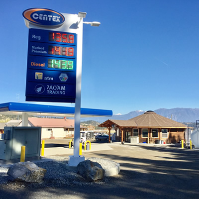 A new Centex gas bar has opened at the ?AQAM Trading Centre.