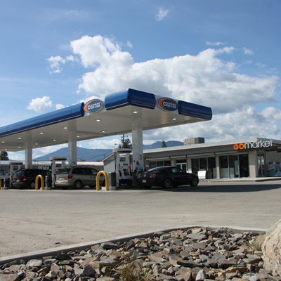 New Centex gas station.