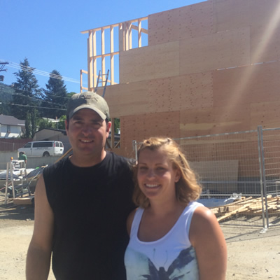 Mike and Heather Vigna are the force behind a new gymnastics centre being built in Creston, B.C.