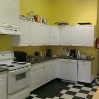 Photo of a kitchen