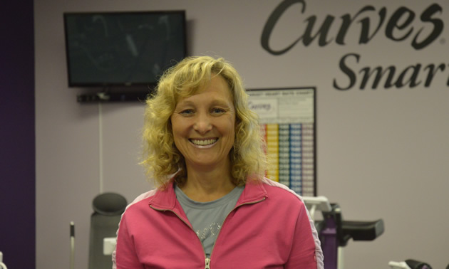 Carla Lowden, owner/operator of Curves in Cranbrook, B.C.