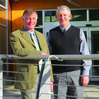 COTR President and CEO David Walls and Board Chair David Handy