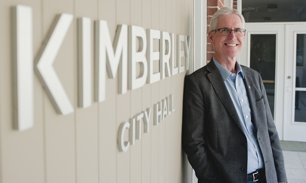 Don McCormick has begun his campaign for a second term as Kimberley's mayor