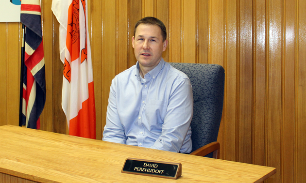 David Perehudoff is the chief administrative officer for the City of Trail, B.C.