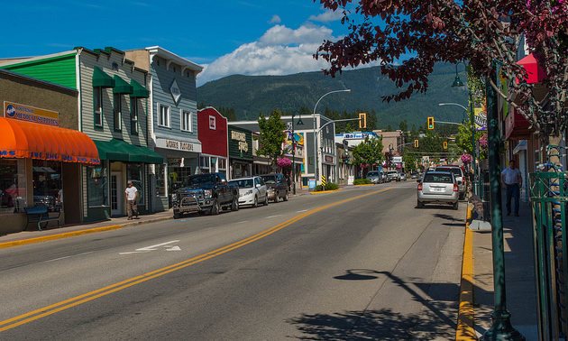 Canyon Street in downtown Creston is an important part of the region.