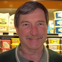 Dan Rye, manager at the Kootenay Market won Castlegar's Business Person of the Year for 2014