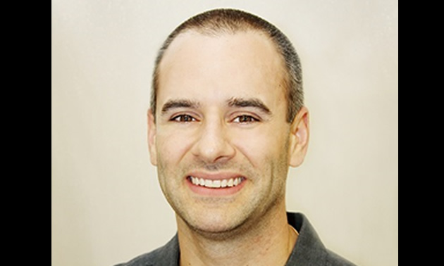 David Abenante, owner of Elite Physiotherapy.