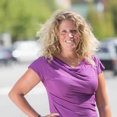 Deanne Steven is the dynamic executive director of Tourism Rossland in Rossland, B.C.
