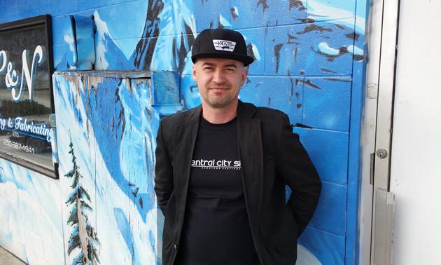 Derrek Kittson is a staunch advocate for business in dowtown Castlegar, B.C.