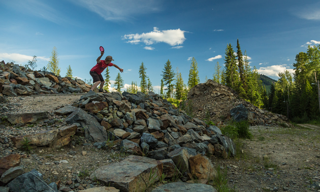 Thin Air Disc Golf Club is a popular 18-hole course located in Rossland, B.C.