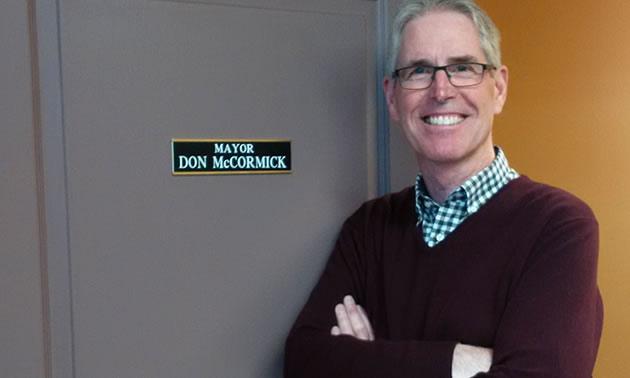 Kimberley Mayor Don McCormick.