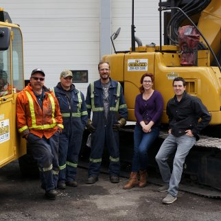 FR Rentals in Sparwood has received an award for its contribution to the mining industry.