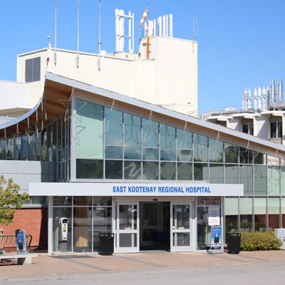 The Kootenay East Regional Hospital.