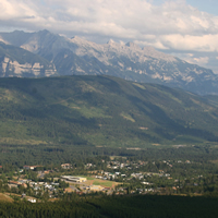 Elkford, B.C., is situated in the heart of the Rocky Mountains