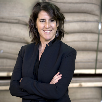 Elana Rosenfeld, CEO and founder of Kicking Horse Coffee
