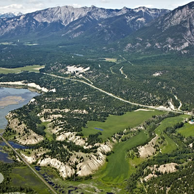 Elk Park Ranch, near Radium Hot Springs, B.C.