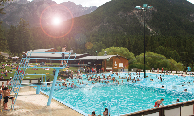 Fairmont Hot Springs Resort taps into the largest hot mineral springs in Canada.