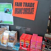 Fair Trade Organic display