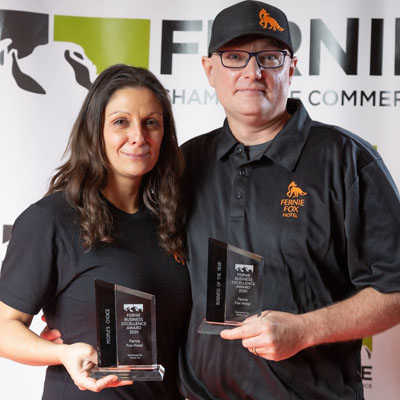 The Fernie Fox Hotel scored two big wins at the recent Fernie Chamber of Commerce Business Excellence Awards, held on October 23