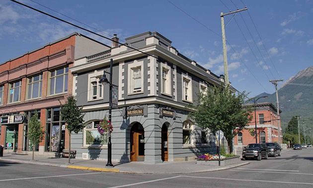 Fernie's Home Bank building was built in 1910, at the height of the area's coal production.