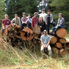 Photo of a group of forestry students