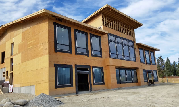 Fitness Inc's new building is currently under construction across from Wildstone Golf Course on McPhee Road.