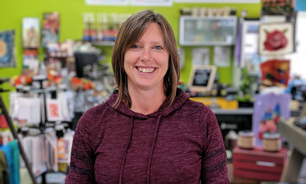 Melanie Joy, Creston resident and owner of Fly in the Fibre, brings Canadian-made goods and fibre-filled fun to the Kootenays.
