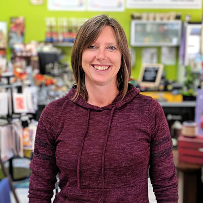 Melanie Joy, Golden resident and owner of Fly in the Fibre, brings Canadian-made goods and fibre-filled fun to the Kootenays.