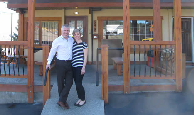 George and Rachel Freitag are the owners of Elizabeth Lake Lodge, an award-winning accommodation in Cranbrook, B.C.