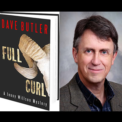 Full Curl is the first book in the Jenny Willson Mystery Series by Cranbrook author, Dave Butler.