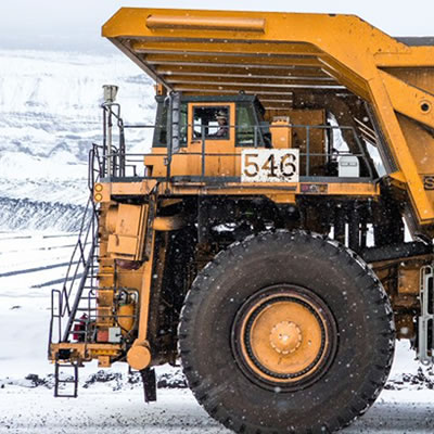 Picture of heavy-duty equipment.
