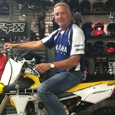 Paul Kramer, owner of Ghostrider Motorsports in Fernie, stocks power toys for all seasons.